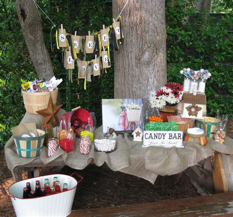 rustic backyard party ideas rustic outdoor summer party ideas photo 3 of 3 catch
