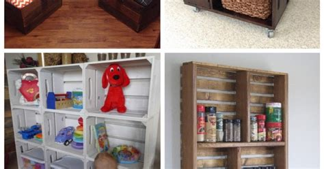 25 creative and easy diy 25 creative diy project ideas from crates idees and