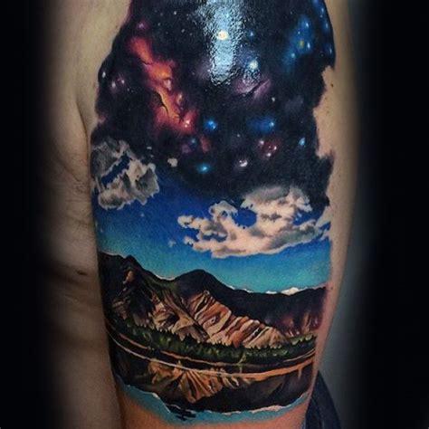 atmosphere tattoos 70 sky tattoos for atmosphere design ideas sky