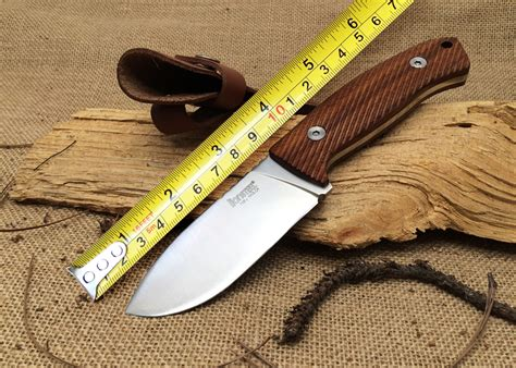 st knives lionsteel m3 st knife santos wood handle 7cr17mov