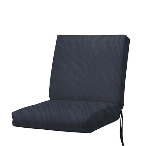 home decorators outdoor cushions home decorators collection sunbrella indigo outdoor dining chair cushion 1573120770 the home depot