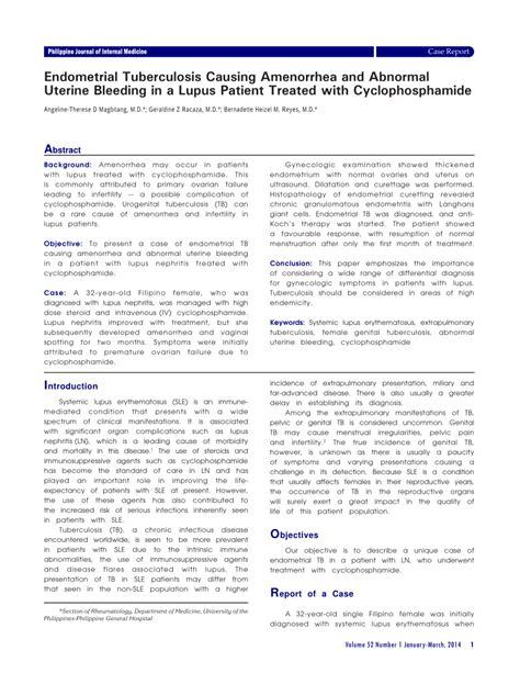Mcmaster Resume Sle 100 Systemic Lupus Erythematosus With Initial Systemic Lupus Erythematous Step2 3
