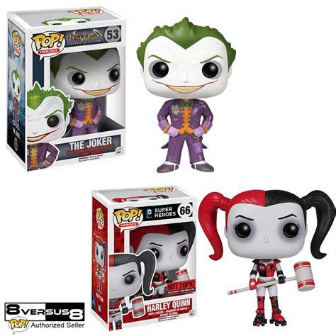 Funko Pop Dc Comic Batman Harley Quinn With Mallet Topic funko pop dc comics batman vinyl figure roller derby harley quinn joker combo ebay