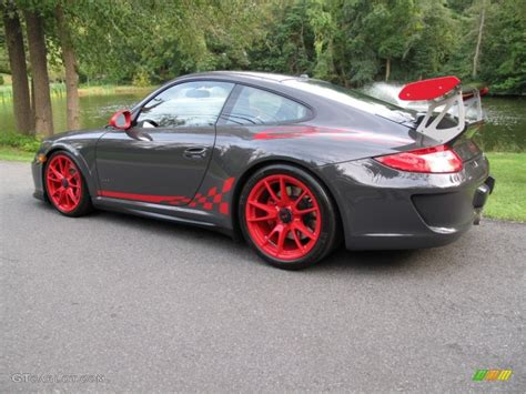 porsche gt3 grey grey black guards red 2010 porsche 911 gt3 rs exterior