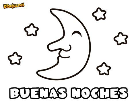 Imagenes De Buenas Noches En Ingles Para Colorear | dibujo de buenas noches para colorear dibujos net