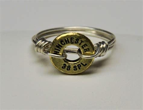 Choker Ring Tie Cinnamon ammo rings rustic