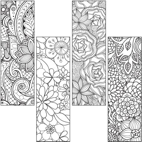Coloring Page Bookmarks by Colour Craze Bookmarks Gresswell Specialist Resources