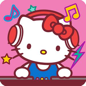 Home Design Game App hello kitty music party kawaii and cute android apps