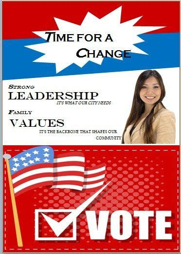 Mail Out Flyer Templates election flyer template microsoft word free political