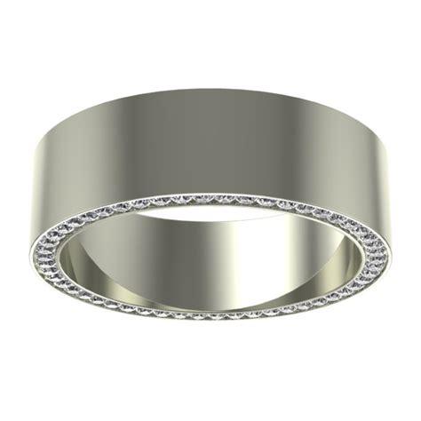 comfort fit mens wedding band vidar jewelry