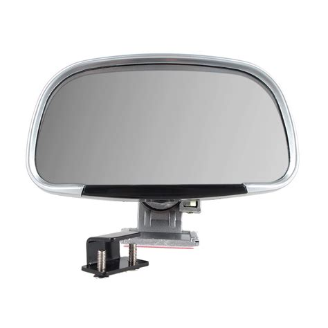 Bindspot Wide View Car Mirror 2x universal car blind spot side rear view mirror wide angle mirrors silver new