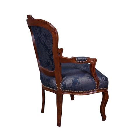 sillon luis xv sill 243 n luis xv azul de muebles en el estilo luis xv