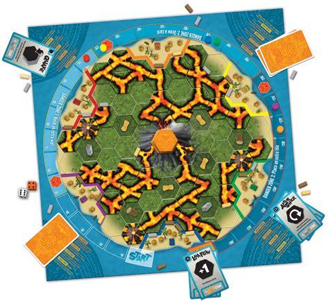 board game layout design eruption stratus games