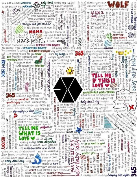 exo for life english lyrics exo song lyrics ℓуrісs pinterest