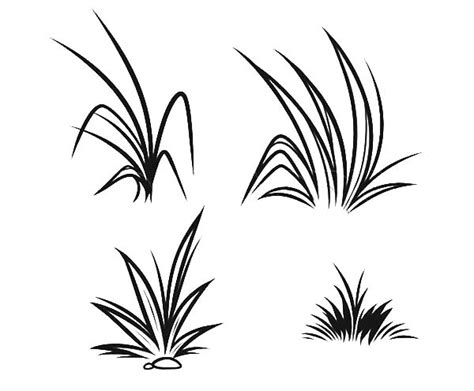 grass coloring pages free clipart best