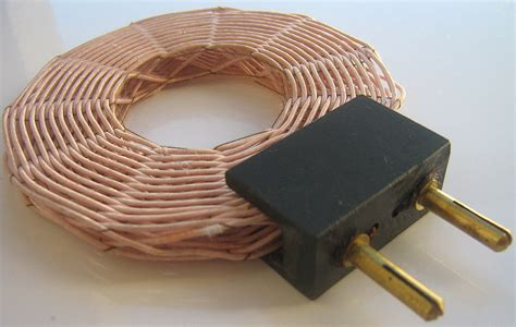 radio inductor coil poynting vector test cells