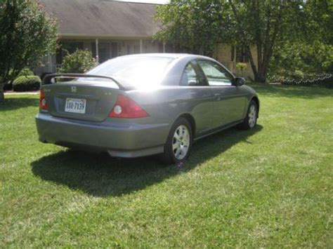 2005 honda civic 2 door coupe sell used 2005 honda civic ex coupe 2 door 1 7l in mebane