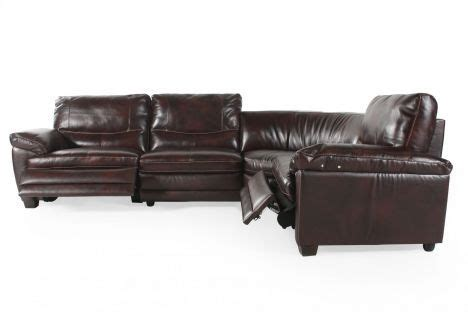 Softaly Leather Sectional by Nat U080 4pcsect Natuzzi Editions Softaly Sectional