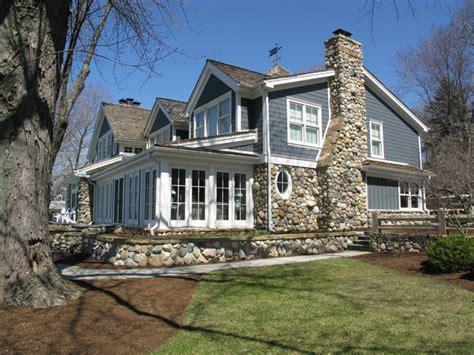modern lake cottage modern exterior indianapolis