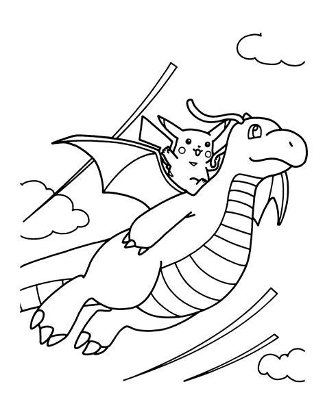 pokemon coloring pages dragonite pokemon dragonite coloring pages sketch coloring page