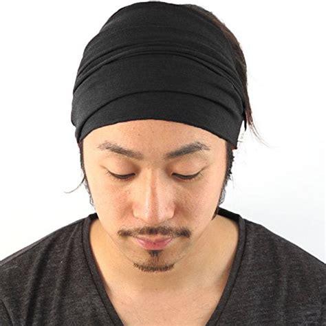 mens long hair headbands mens elastic bandana headband japanese long hair dreads