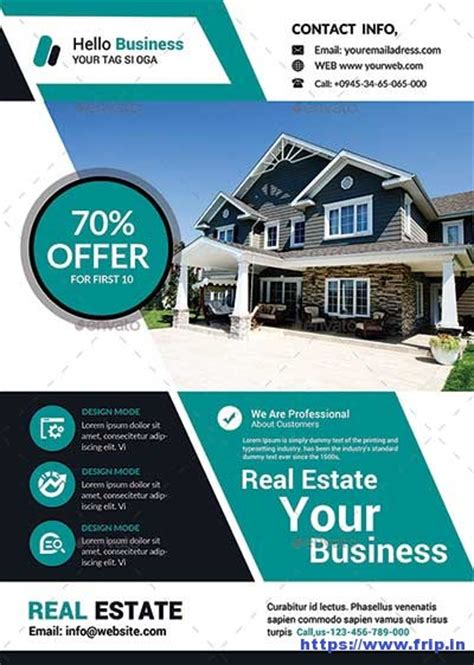 real estate for sale flyer template real estate 50 best real estate flyer print templates 2017 frip in