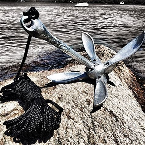 best fishing boat anchor best kayak anchor for canoes and jet skis galvanized
