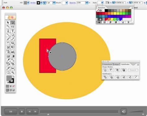 tutorial adobe illustrator cs5 untuk pemula desain grafis belajar adobe illustrator semua dasar