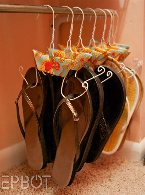 diy hanging shoe rack 8 useful closet hacks to tidy up your wardrobe on the cheap