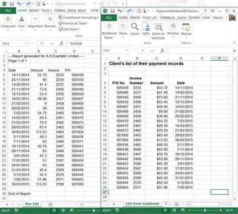 Compare Two Excel Spreadsheets For Differences 2010 by Compare Two Excel Workbooks For Differences 2010