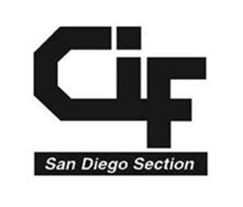 san diego section cif cif san diego section trademark of california