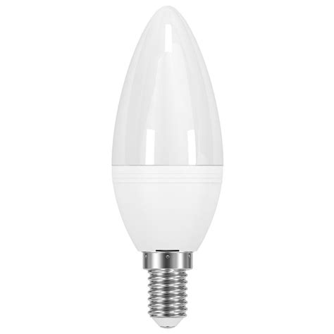 venture vled 6w dimmable frosted candle ses e14 500lm 5000k dom100