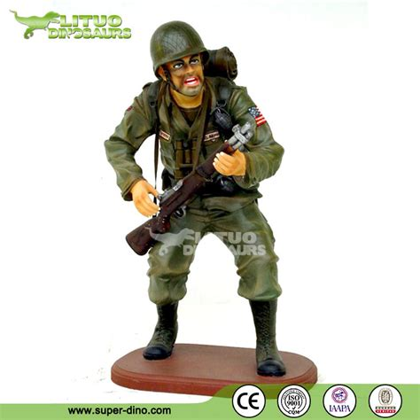 fiberglass resin statue of life size soldier buy life