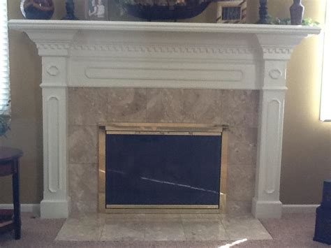 painted fireplace mantels before and after fireplace painted mantel and doors