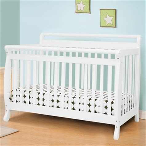 Davinci Emily 4 In 1 Convertible Crib White by Davinci Emily 4 In 1 Convertible Crib In White M4791w Free Shipping