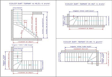 calcul d un escalier quart tournant fabrication escalier escalier quart tournant