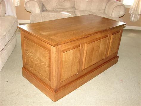 Blanket Chest Keith S White Oak Blanket Chest The Wood Whisperer