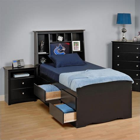 prepac bedroom furniture prepac sonoma black bedroom set bbq 6212 kit