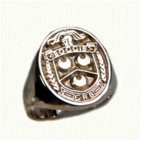 wood wedding rings family crest rings