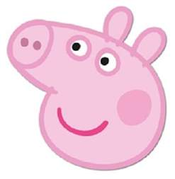 peppa pig officially licensed single card party fun face