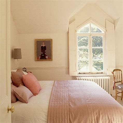 cream bedroom ideas small cream bedroom with gothic windows and silk quilt