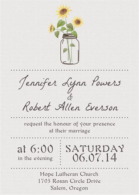basic invitation template cheap simple wedding invitations