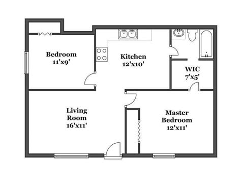 2 bedroom floor plan birchwood floor plans kalamazoo apartments