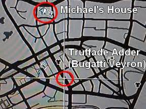Grand Theft Auto 5 Bugatti Location Bugatti Veyron Gta V Location Bugatti Free Engine Image