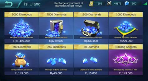 codashop mobile legends cara beli diamond mobile legend via pulsa hanya rp 3 000