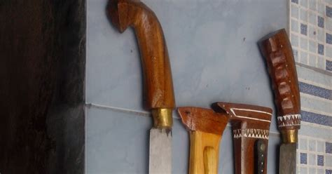 Pisau Qurban golok dan pisau potong hewan golok sembelih majid