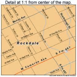 rockdale map 4862672