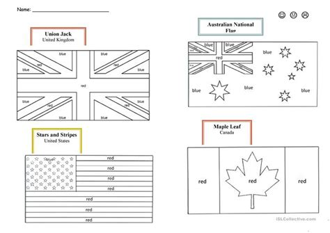 speaking countries flags coloring pages 61 free esl flags worksheets
