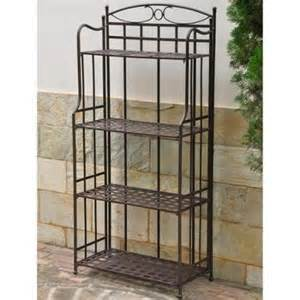 Inexpensive Bakers Rack Buy International Caravan Santa Fe 4 Tier Bakers Rack In
