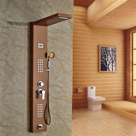 Shower Panneling by Thermostatic Shower Panels Bathroom Shower Panels